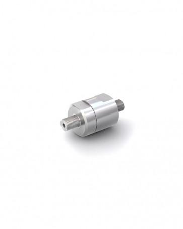 """Rückschlagventil Edelstahl - AG G 1/8"""" / AG G 1/8"""" - max. 250 bar - DN 3 mm"""