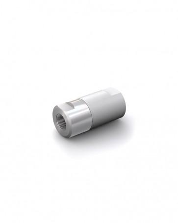 """Rückschlagventil Edelstahl - IG G 1/4"""" / IG G 1/4"""" - max. 250 bar - DN 6 mm"""