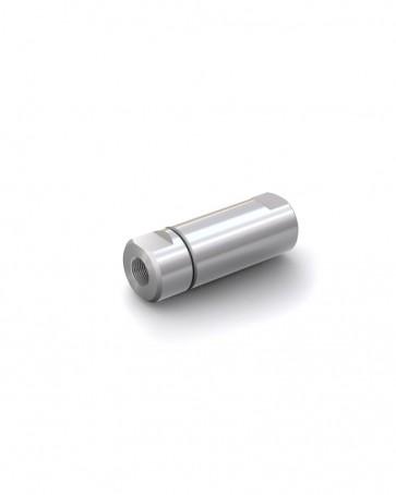 """Rückschlagventil Edelstahl - IG G 3/8"""" / IG G 3/8"""" - max. 250 bar - DN 14 mm"""