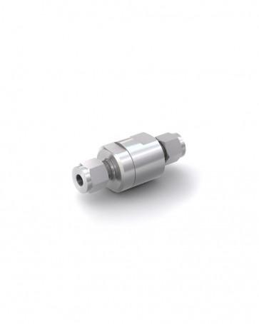 Rückschlagventil Edelstahl - Klemmring Rohr Ø 8 mm / Klemmring Rohr Ø 8 mm - max. 150 bar - DN 6 mm