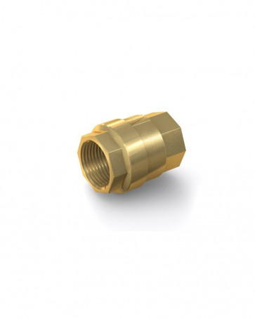 "Rückschlagventil Messing - IG G 1 1/4"" / IG G 1 1/4"" - max. 25 bar - DN 32 mm"