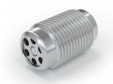 Einschraubventil Edelstahl - AG M10x1,0 / AG M10x1,0 - max. 250 bar - DN 3,6 mm
