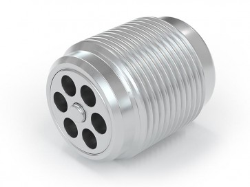 Einschraubventil Edelstahl - AG M18x1,5 / AG M18x1,5 - max. 250 bar - DN 7 mm