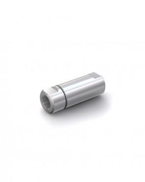 """Rückschlagventil Edelstahl - IG G 1/2"""" / IG G 1/2"""" - max. 250 bar - DN 14 mm"""