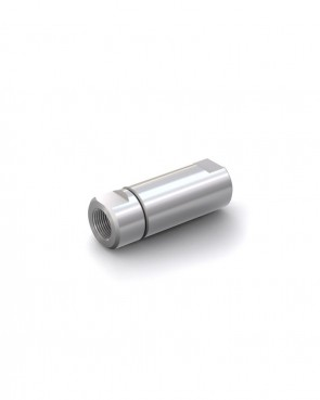 """Rückschlagventil Edelstahl - IG G 1/2"""" / IG G 1/2"""" - max 250 bar - DN 14 mm"""