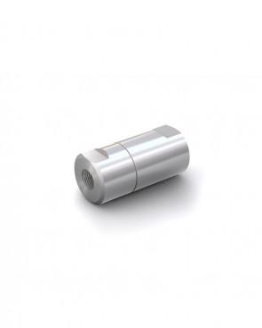"""Rückschlagventil Edelstahl - IG G 1/8"""" / IG G 1/8"""" - max. 250 bar - DN 6 mm"""