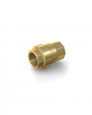 "Rückschlagventil Messing - IG G 1/2"" / IG G 1/2"" - max. 42 bar - DN 15 mm"