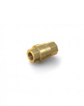 "Rückschlagventil Messing - IG G 1/4"" / IG G 1/4"" - max. 48 bar - DN 10 mm"