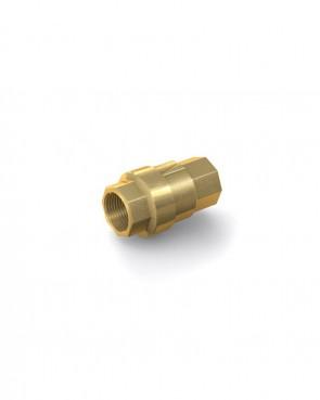"Rückschlagventil Messing - IG G 3/8"" / IG G 3/8"" - max. 48 bar - DN 10 mm"