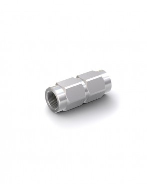 """Rückschlagventil Stahl verzinkt - IG G 1/2"""" / IG G 1/2"""" - max. 300 bar - DN 13 mm"""