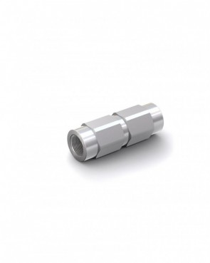 """Rückschlagventil Stahl verzinkt - IG G 1/8"""" / IG G 1/8"""" - max. 300 bar - DN 4 mm"""
